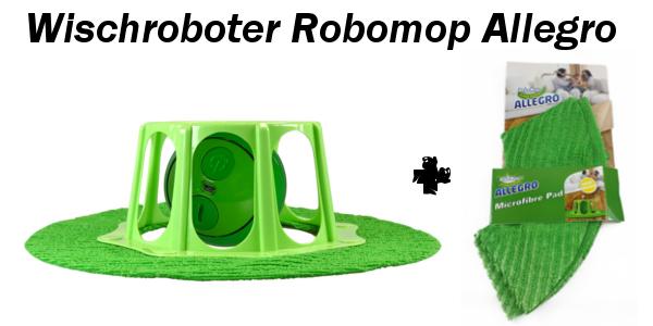 Robomop Allegro mit extra Ersatztuch